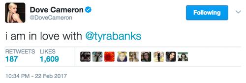tyra tweet