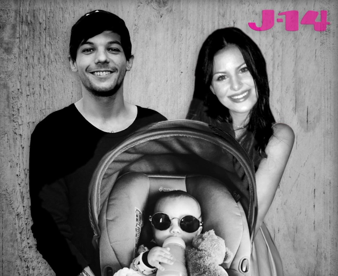 louis tomlinson briana jungwirth baby freddie family photo