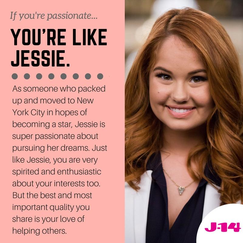 jessie personality quiz
