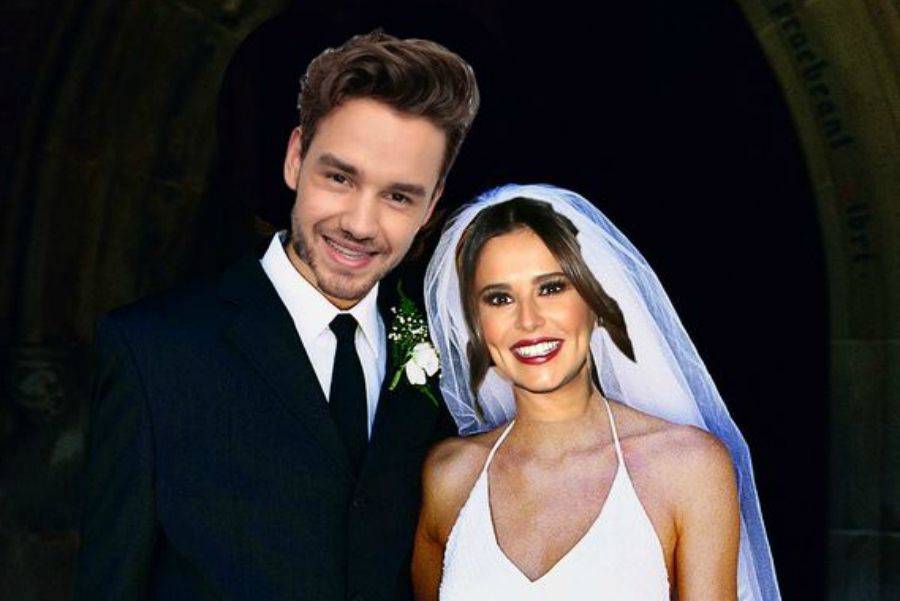 liam payne cheryl imaginary wedding
