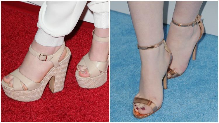 sabrina carpenter feet