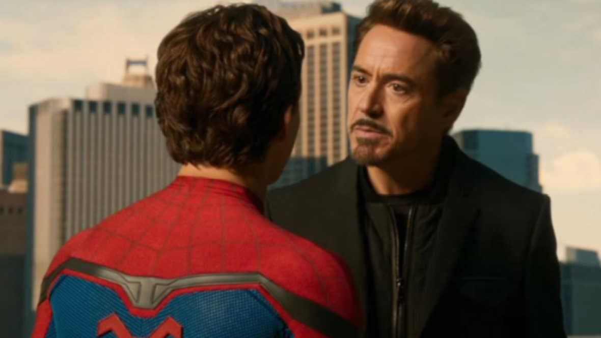 spider-man: homecoming - tony stark
