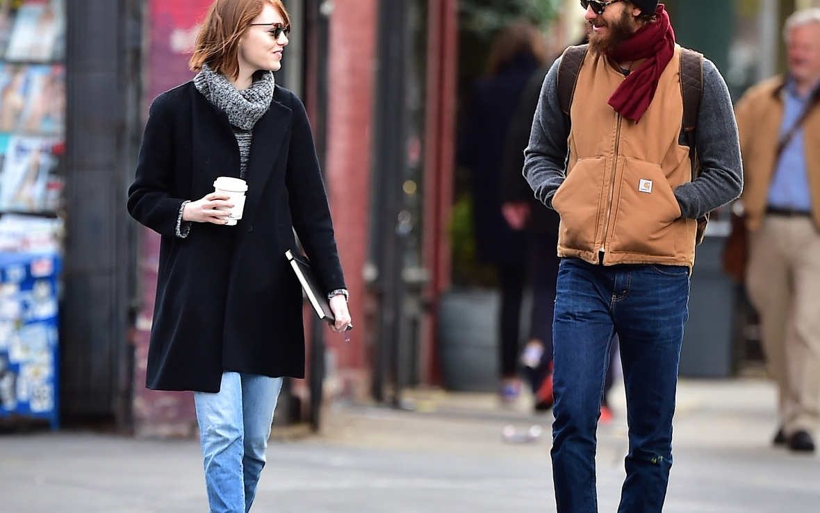 andrew garfield and emma stone - getty