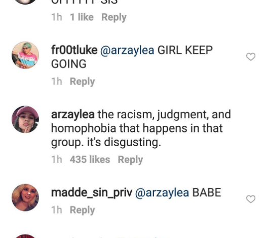 arzaylea ig comment 3