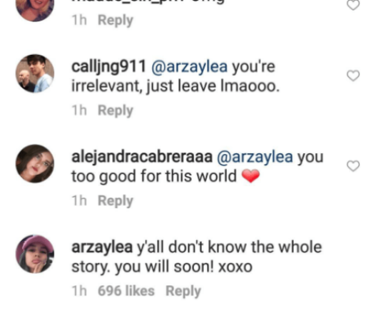 arzaylea ig comment 4