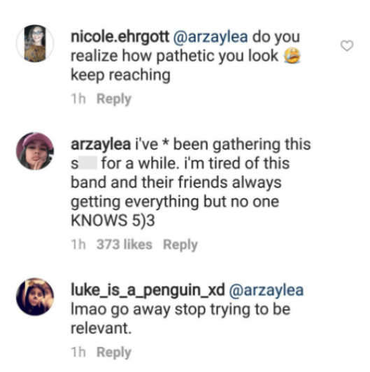 arzaylea ig comment 1