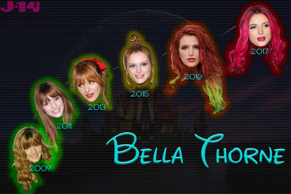 bella thorne rebelling
