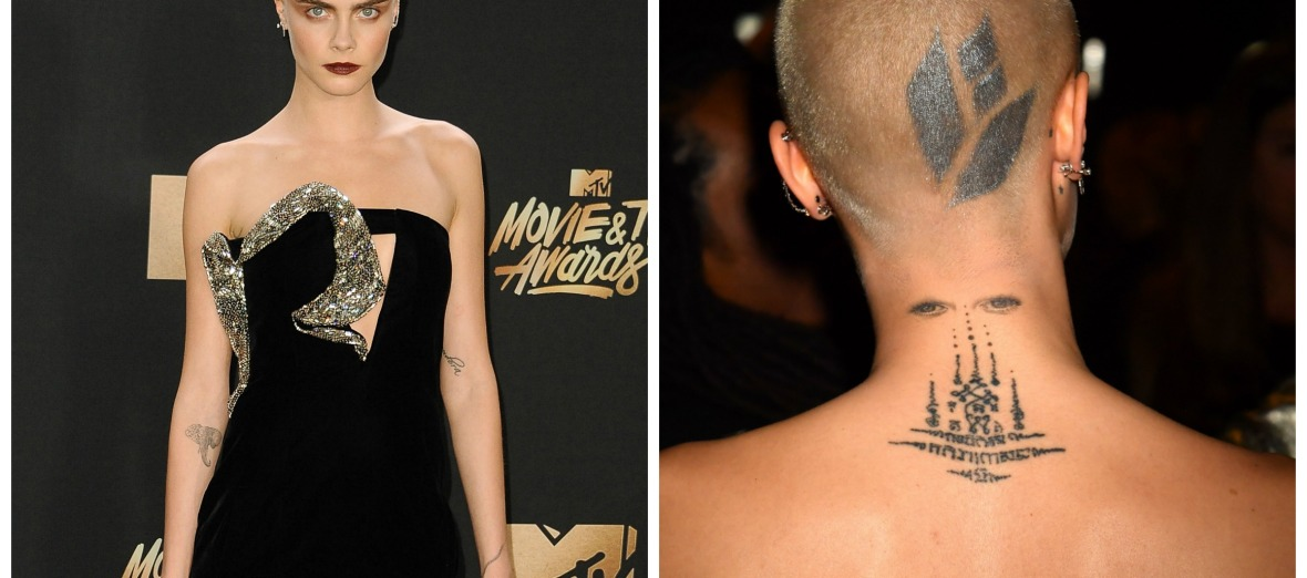 cara tattoos - getty