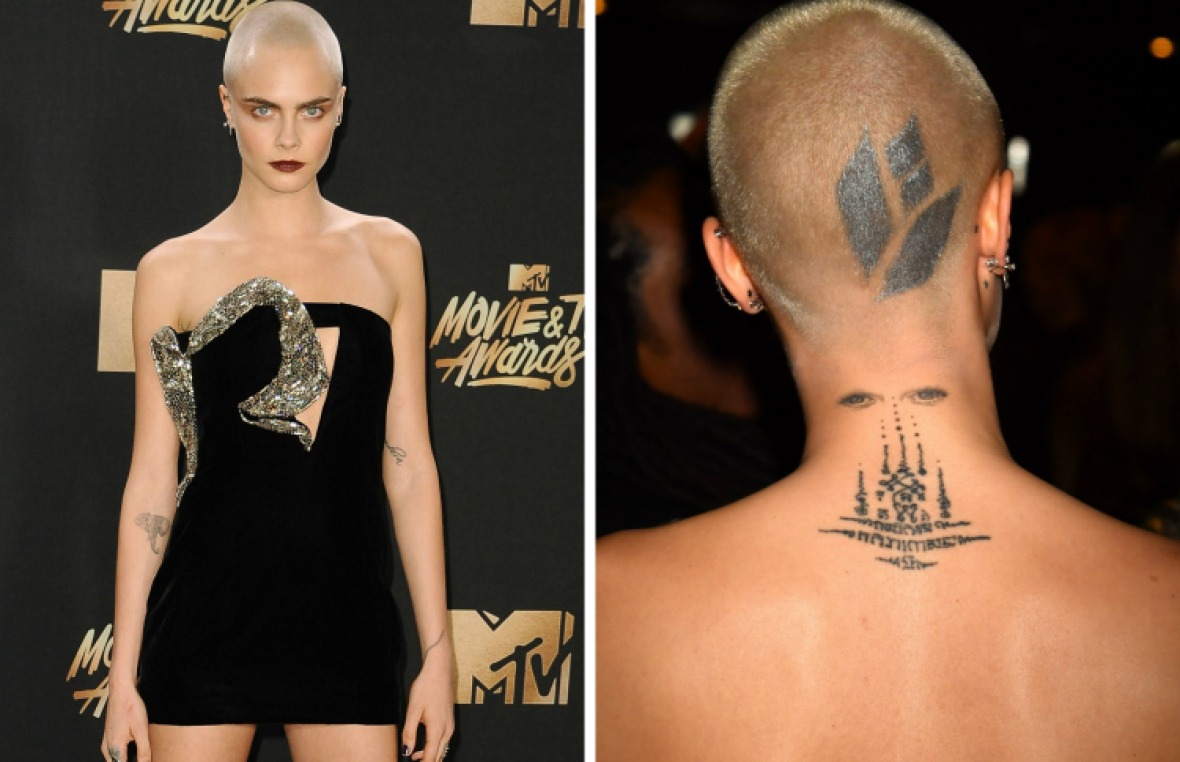 cara tattoos - getty