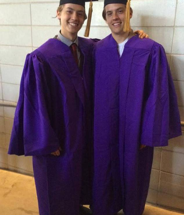 cole and dylan graduation