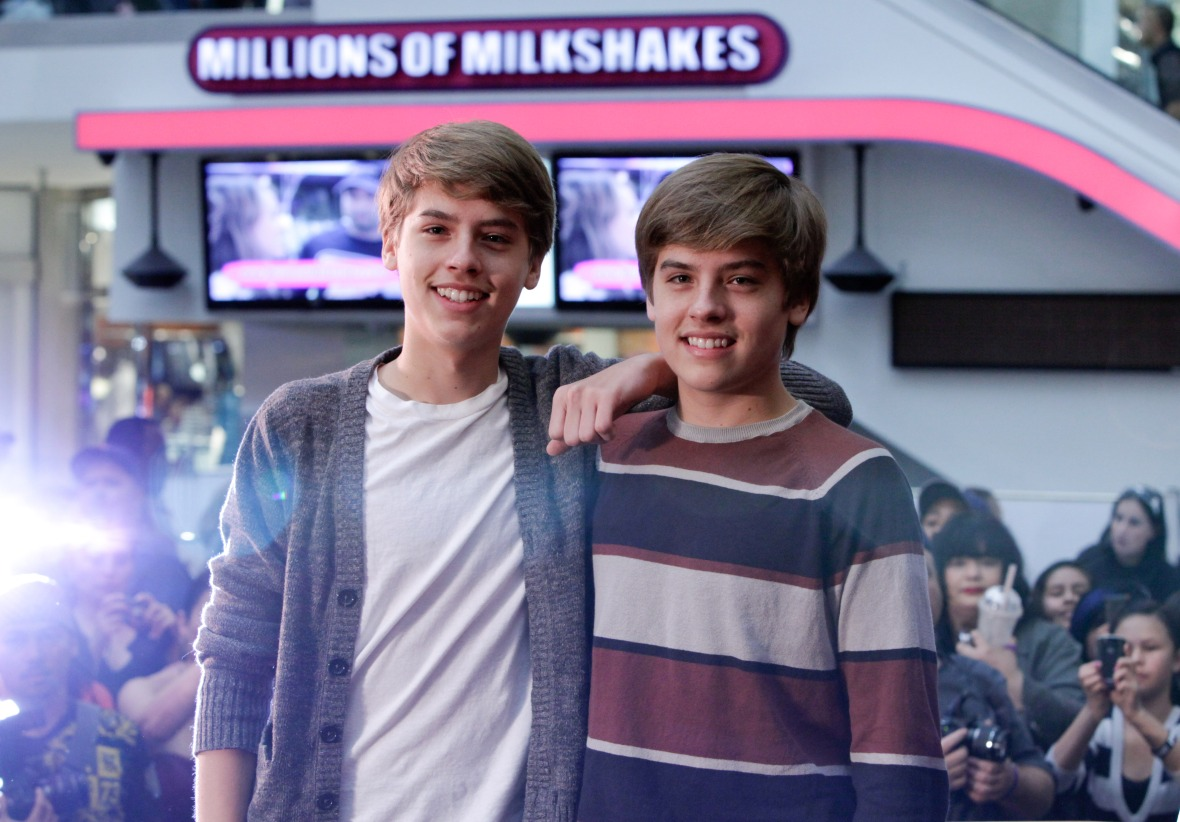 cole sprouse taller than dylan