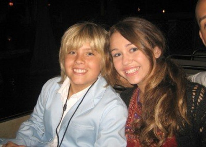 dylan sprouse and miley cyrus