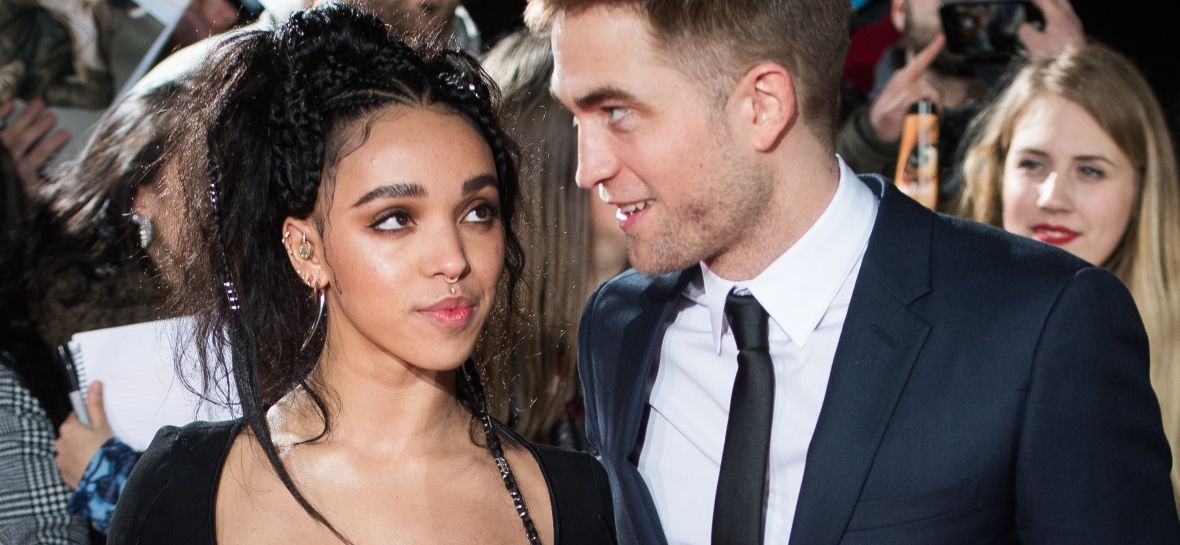 fka twigs and robert pattinson — getty