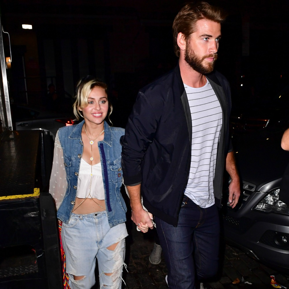 miley cyrus liam hemsworth getty