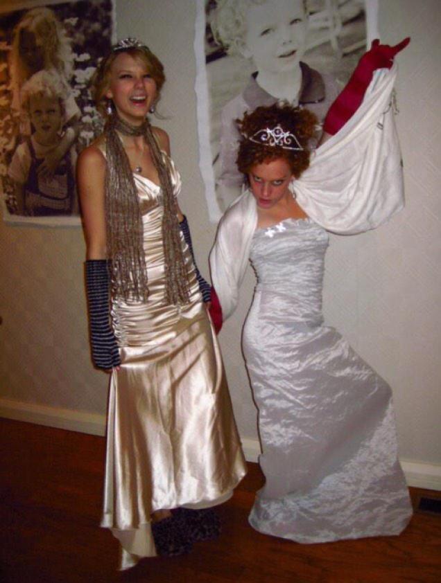 taylor swift abigail anderson throwback