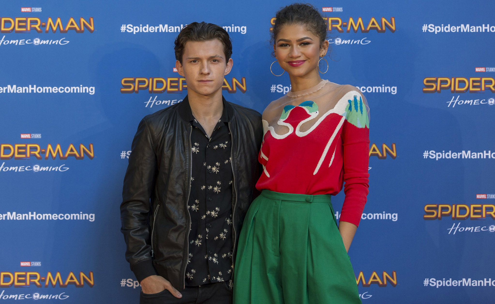 Zendaya Says She's Not Dating Spider-Man Co-Star Tom Holland