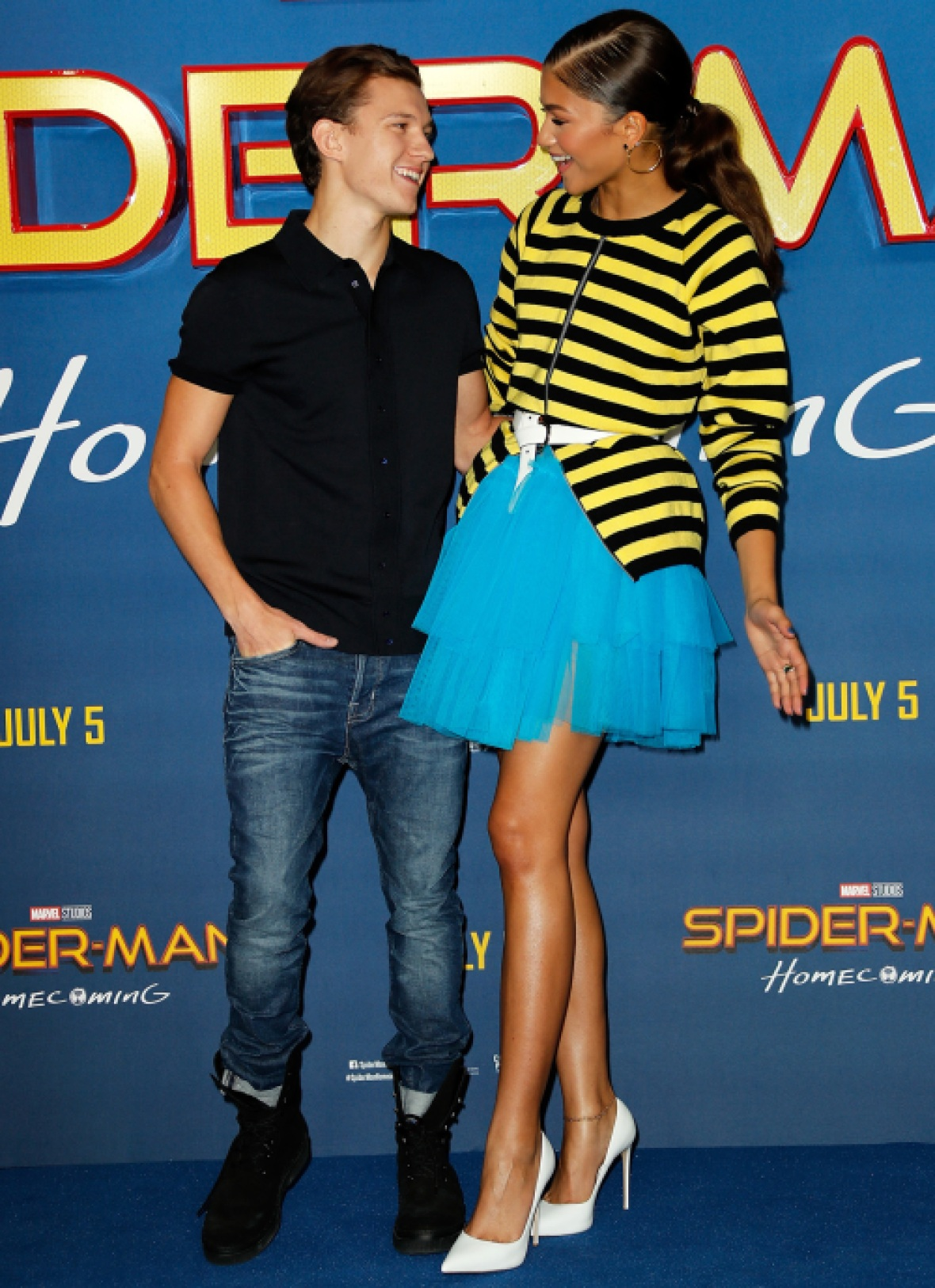 zendaya and tom cute
