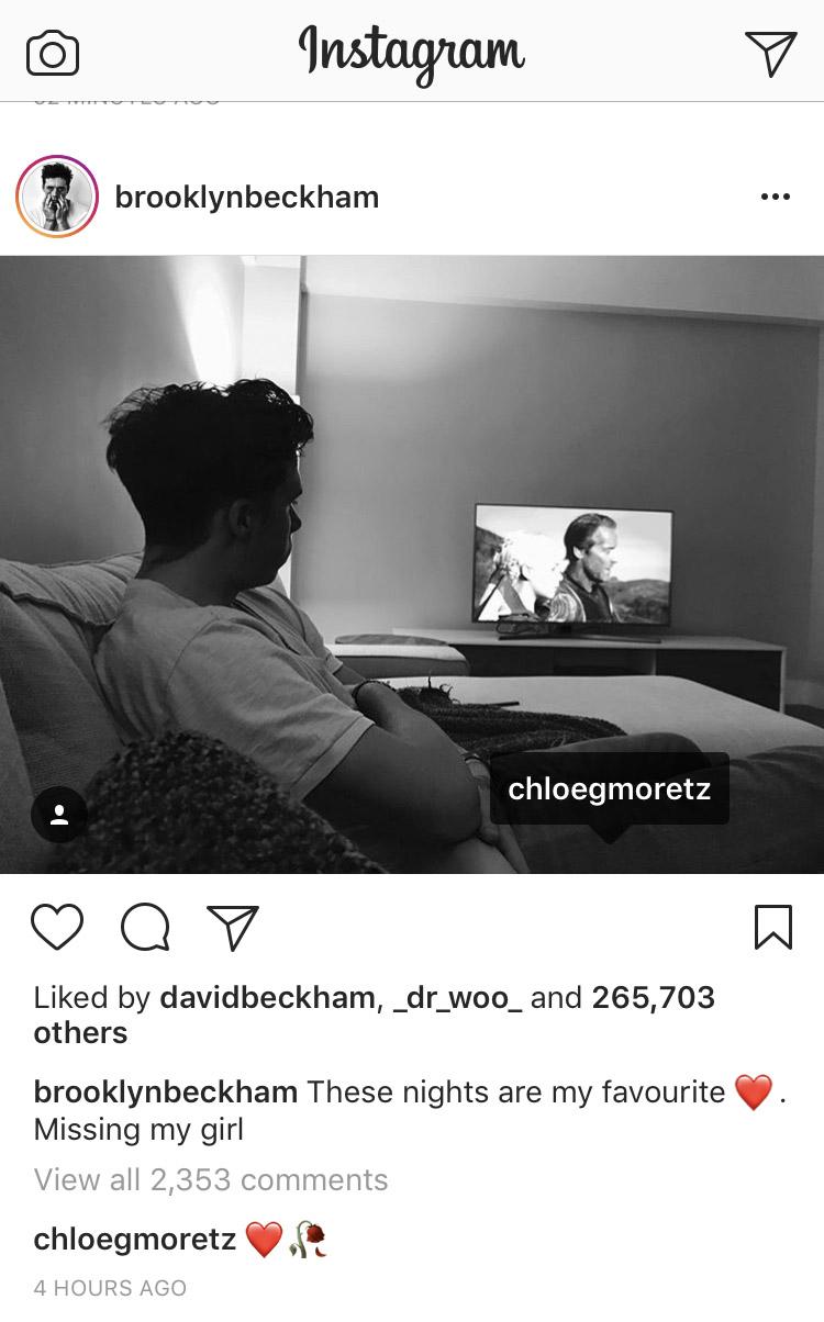 brooklyn and chloe instagram 2017