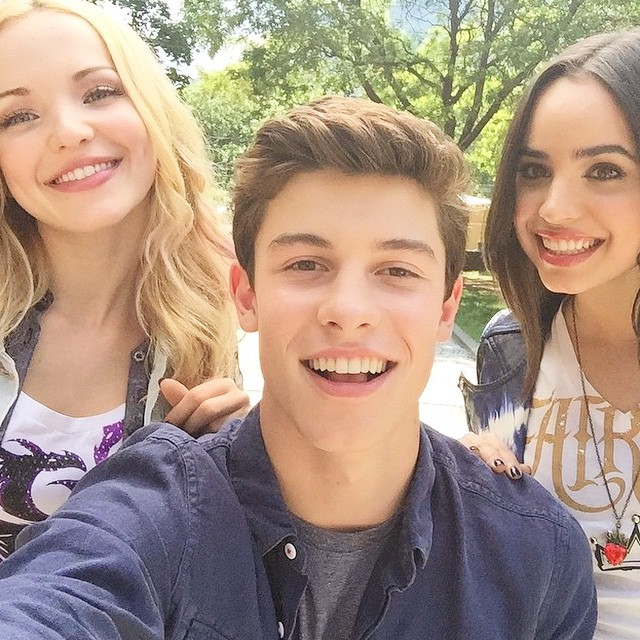 shawn mendes descendants cast