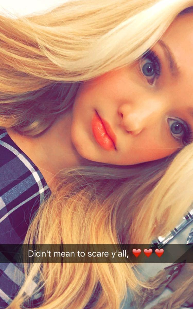 Girls snapchat sexy Kim Zolciak