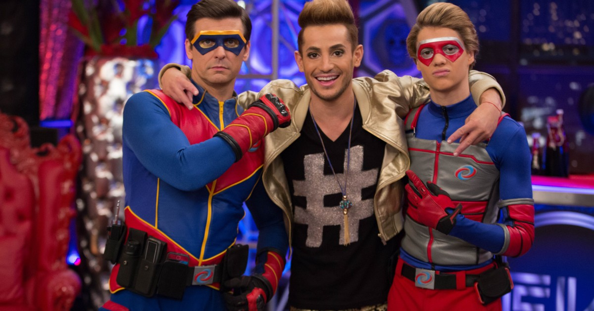 Frankie Grande Dishes On Henry Danger Guest Role Frankini