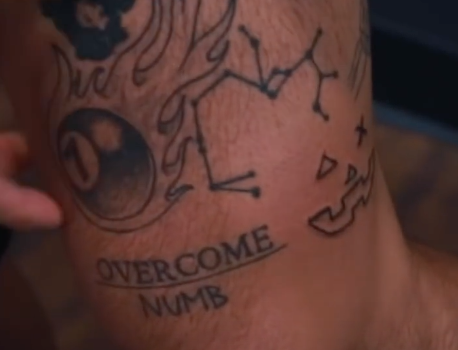 Grayson Dolan Pumpkin Tattoo