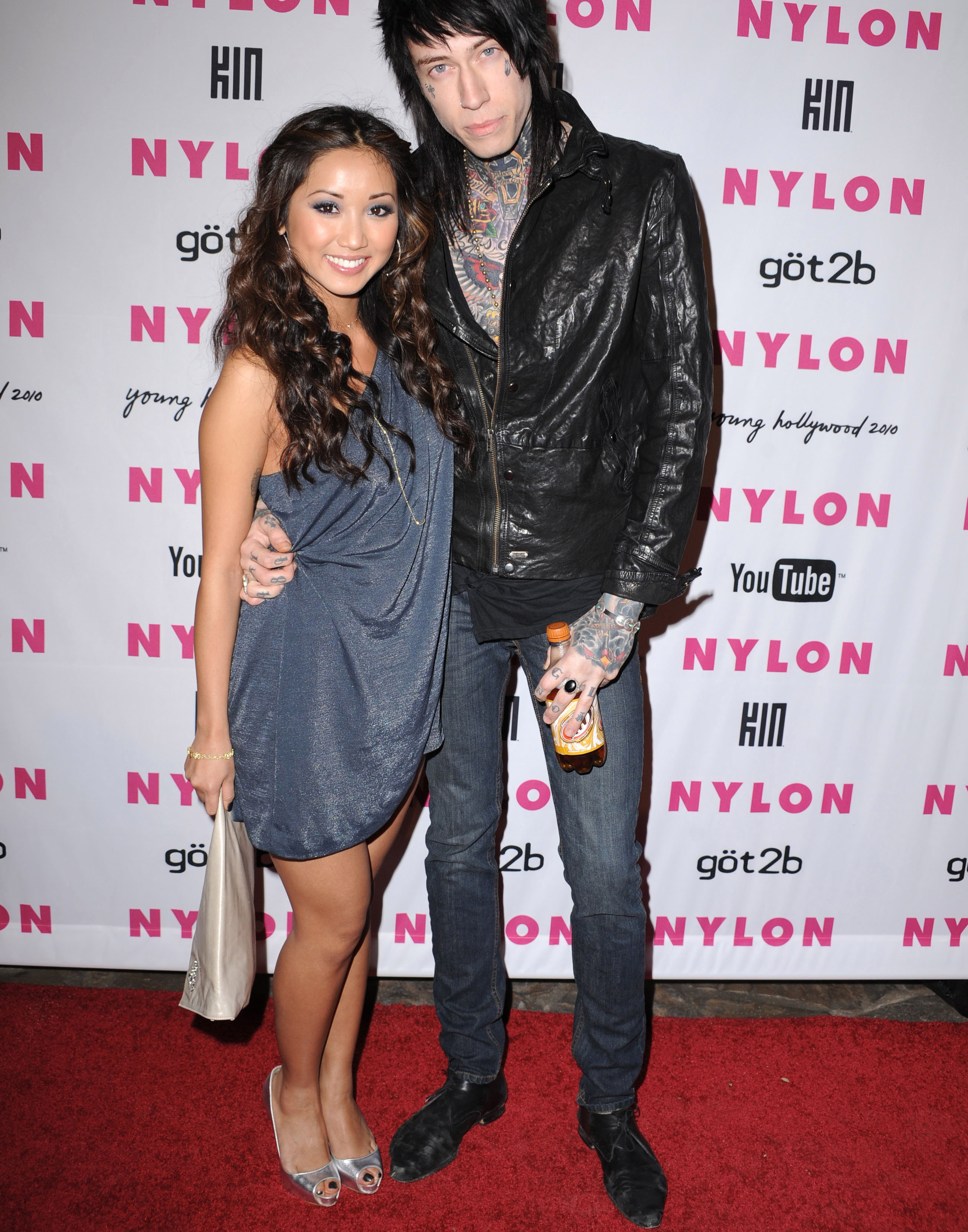 brenda song dating trace cyrus