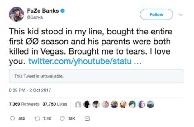 faze banks vegas tweet 1
