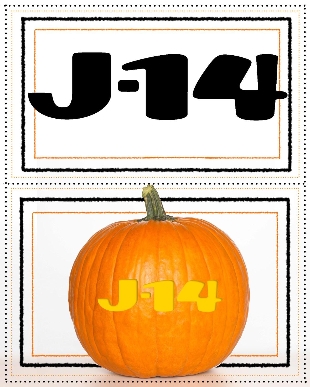 j-14 pumpkin stencil