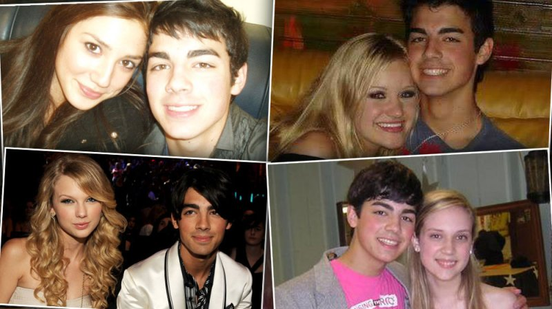 Joe Jonas ex girlfriends