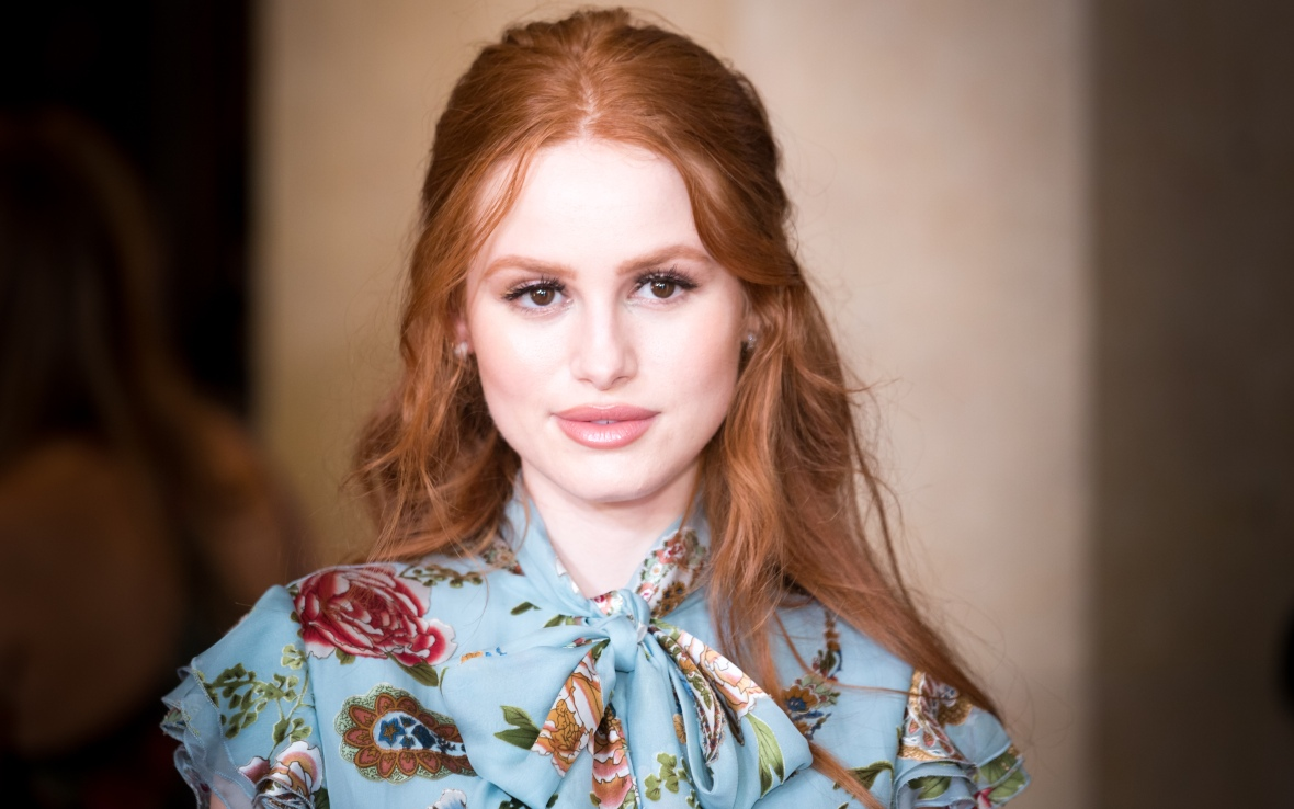 madelaine petsch natural hair color