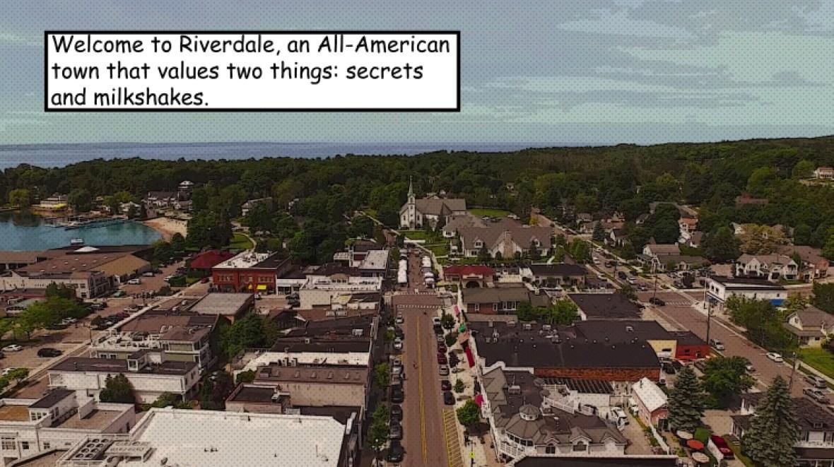 riverdale cw town