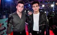 Ethan and Grayson Dolan