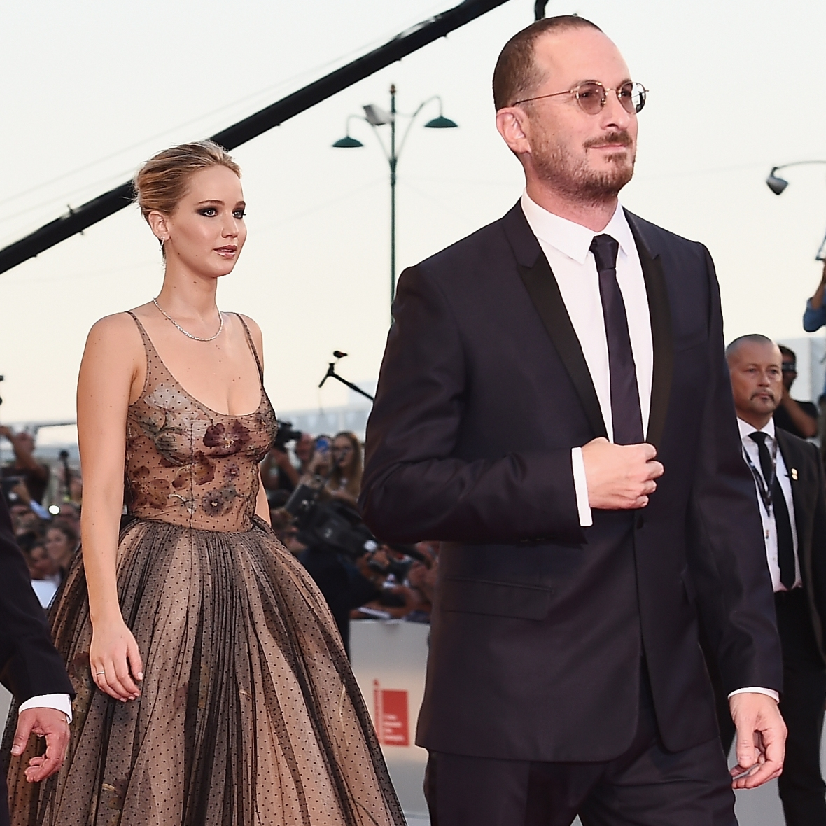 jennifer lawrence darren aronofsky getty images