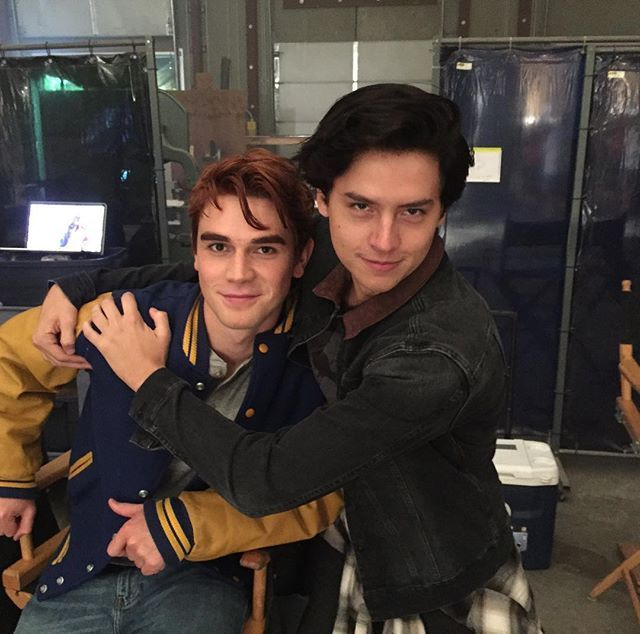 kj and cole riverdale set