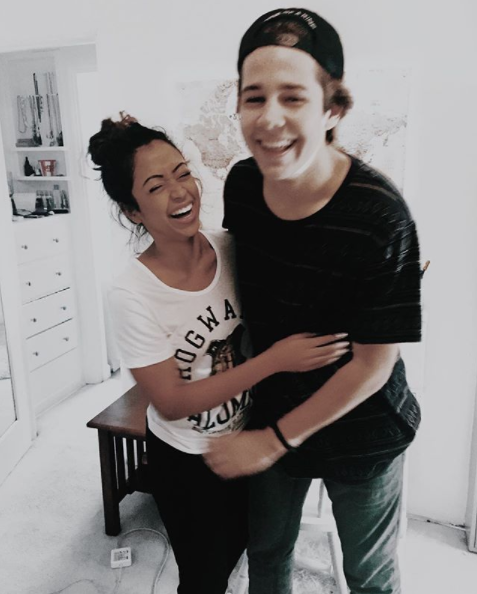 liza koshy and david dobrick 1
