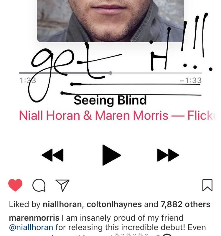 niall maren instagram comments