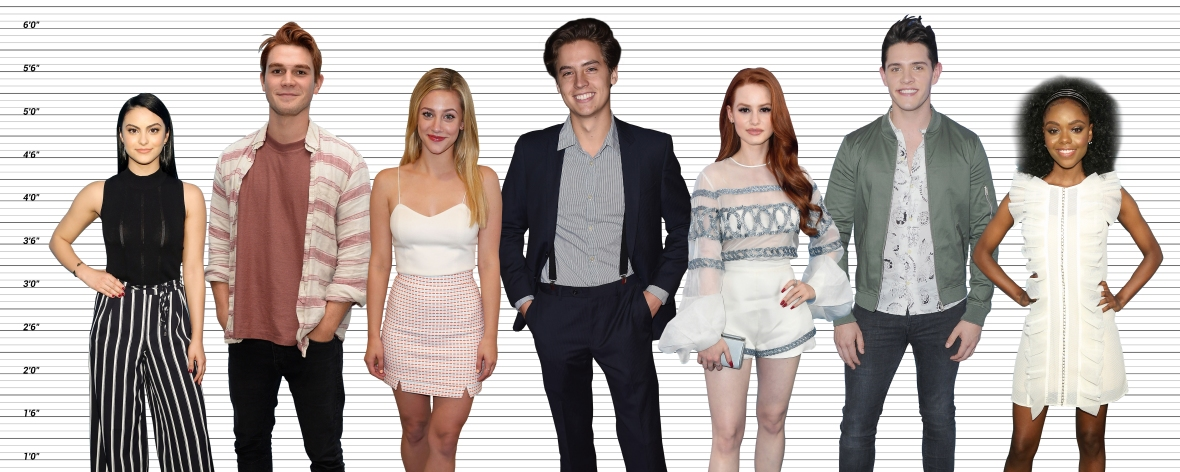 riverdale cast height