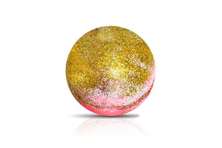 glitter bath bomb