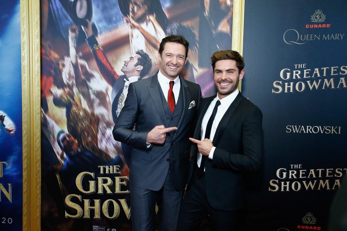 greatest showman - hugh jackman and zac efron