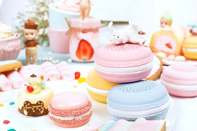 what do i want for christmas? portable macaron speakers