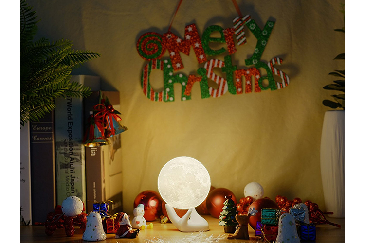 what do i want for christmas? moon lamp