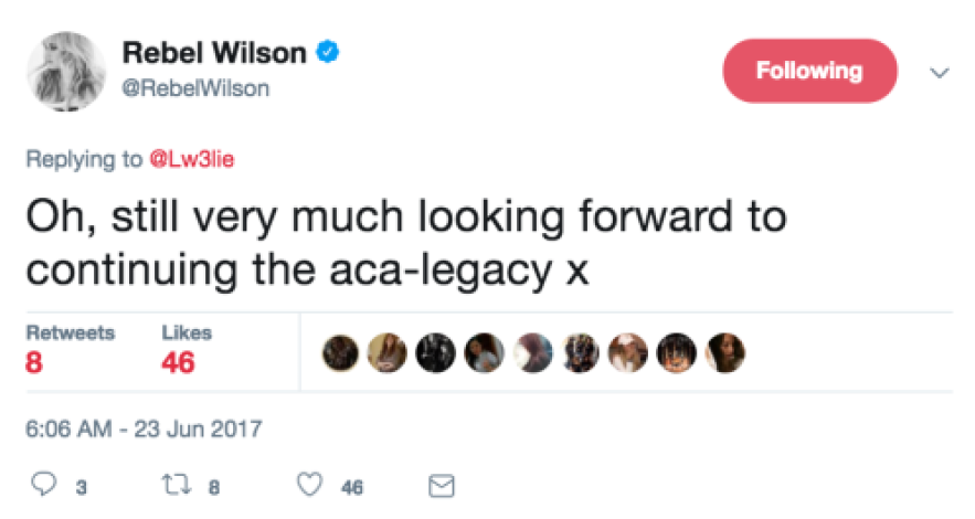 rebel wilson tweet