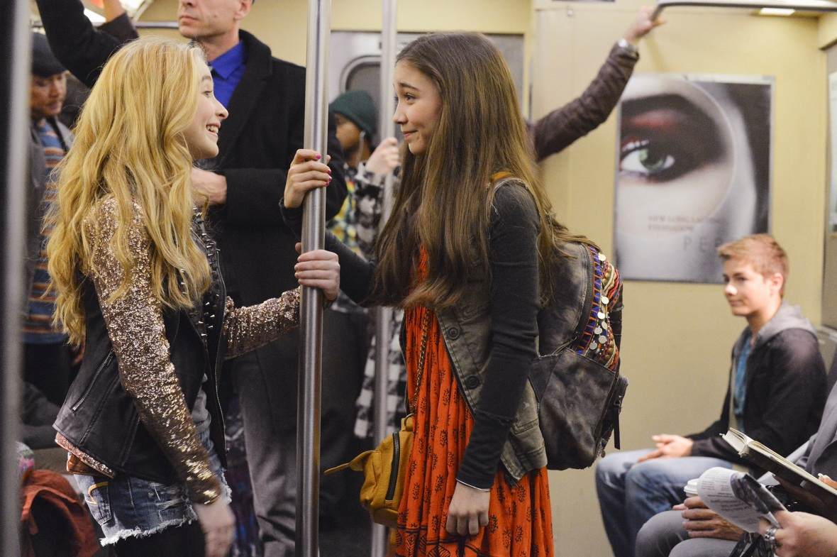 riley maya girl meets world subway