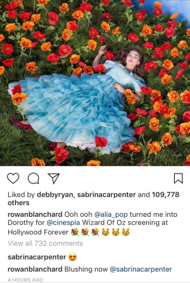 rowan blanchard instagram