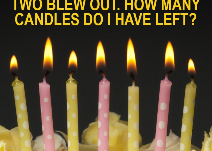 seven candles riddle