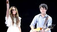 Nick Jonas Miley Cyrus