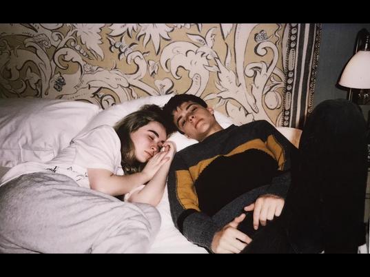 corey and sabrina napping