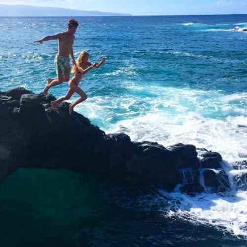 cameron dallas chase carter hawaii instagram
