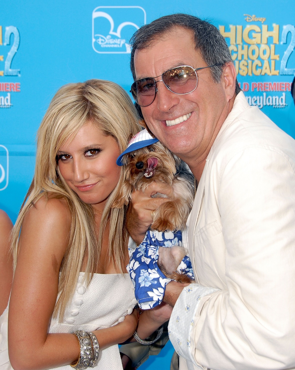 ashley tisdale kenny ortega hsm 2 premiere